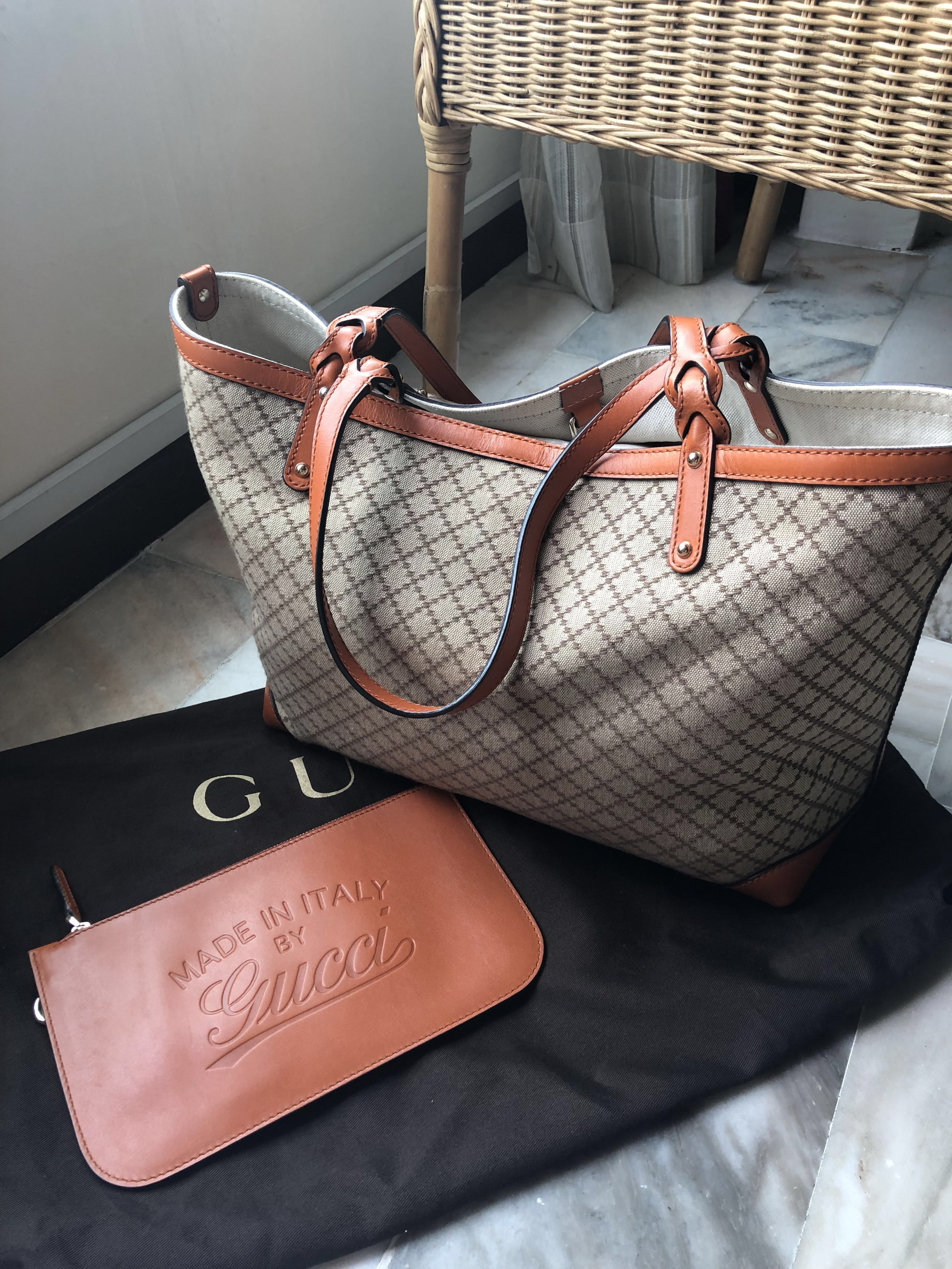 809a4eaef87203 Gucci Neverfull Canvas, Women's Fashion, Bags & Wallets on Carousell