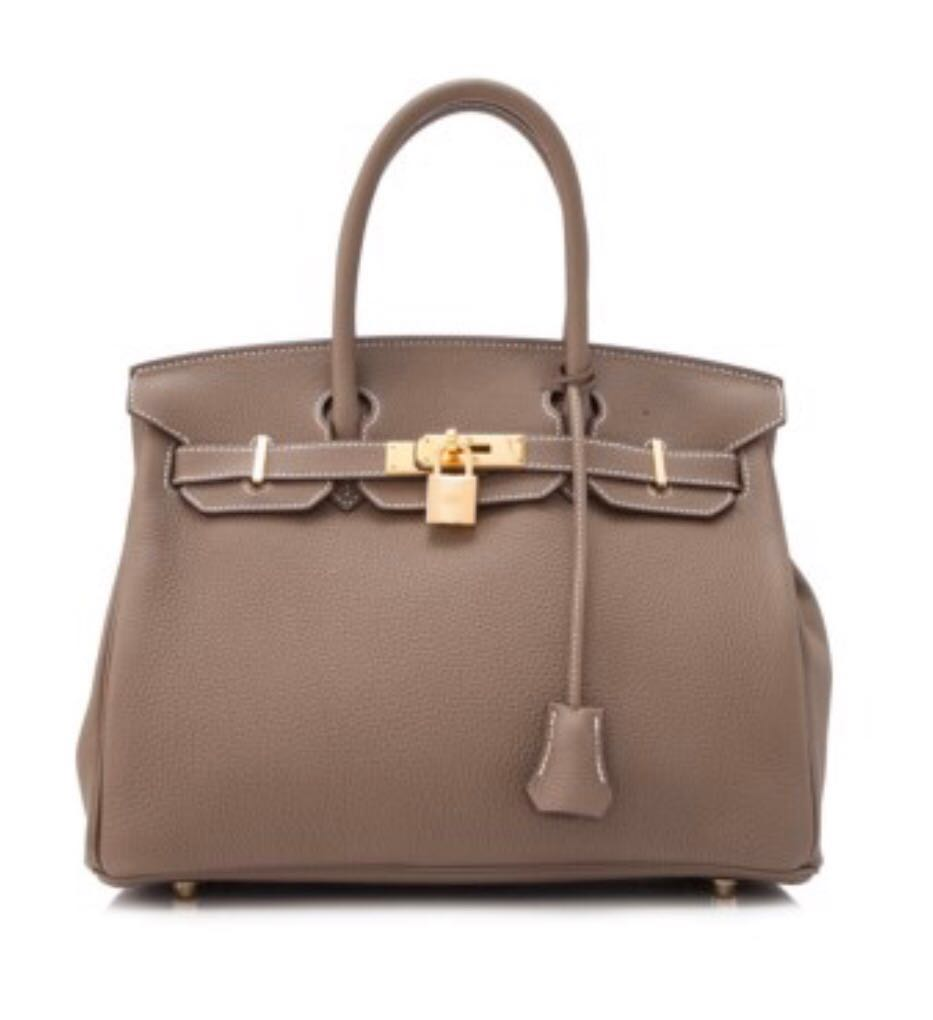 824558b3a92 Hermes Birkin Etoupe 30 (ghw), Luxury, Bags & Wallets, Handbags on ...