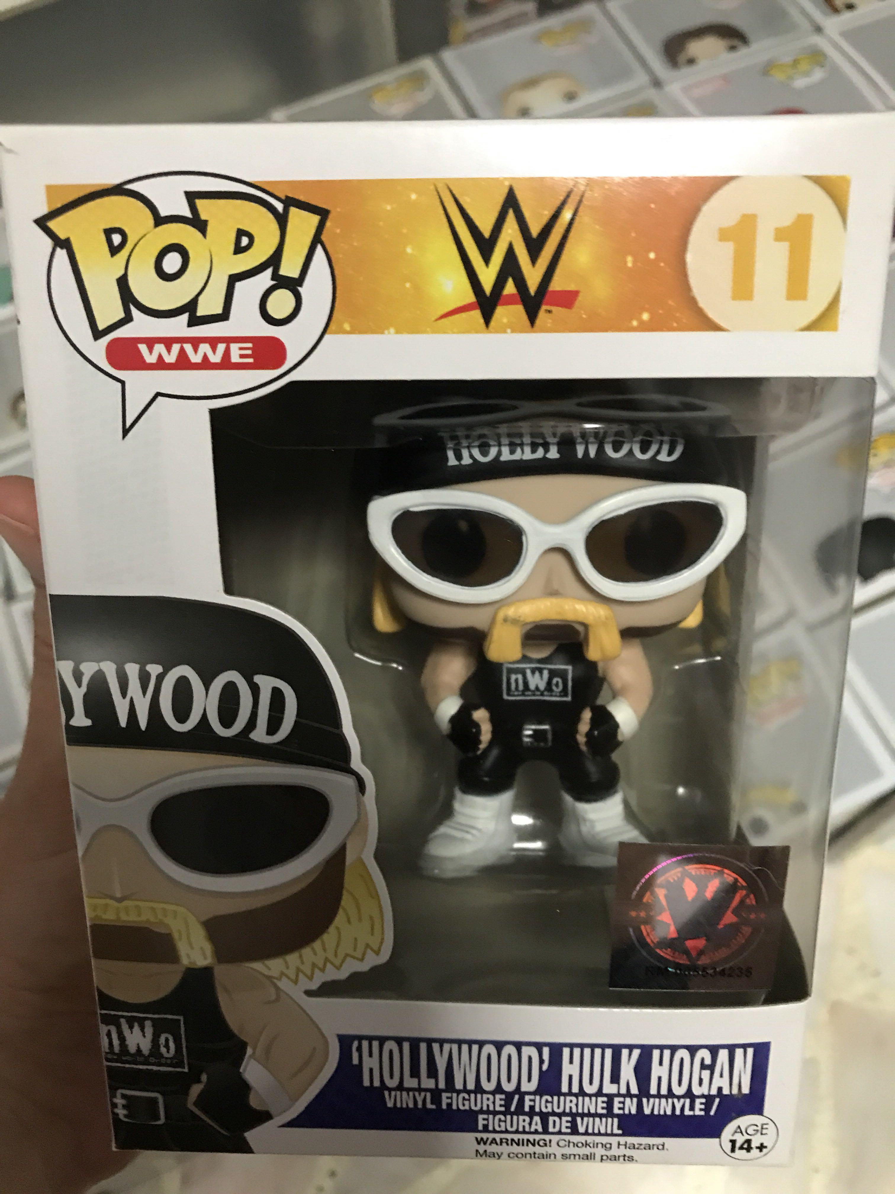 wwe pop vinyl hulk hogan
