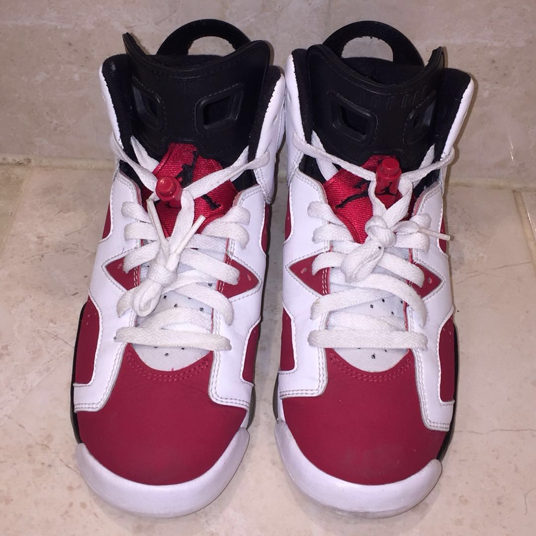 Jordan 6 Carmines CDP