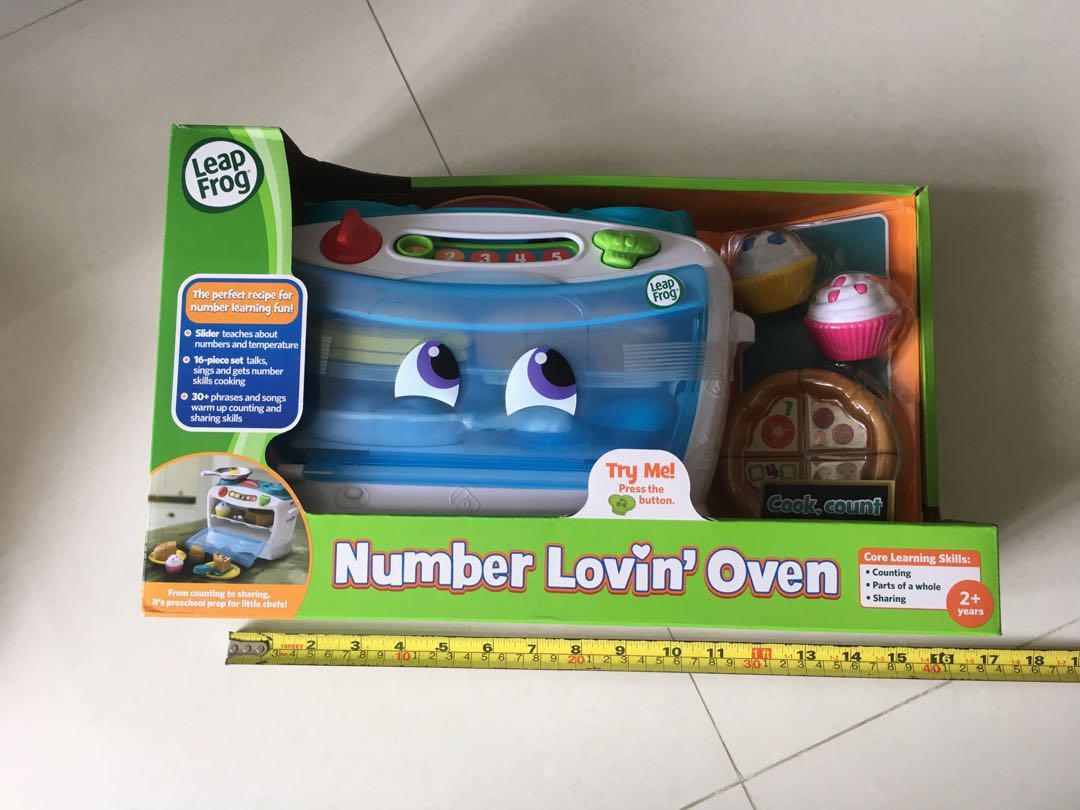 Leap Frog 焗爐煮飯仔玩具全新