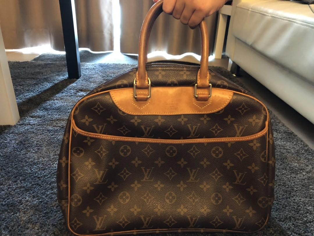 bf99b7d06fd3 Louis Vuitton Deauville handbag-Monogram GM, Luxury, Bags & Wallets ...