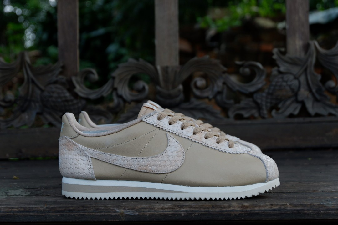 Nike Classic Cortez Beige Leather Original Rare Mens Fashion Footwear Sneakers On Carousell