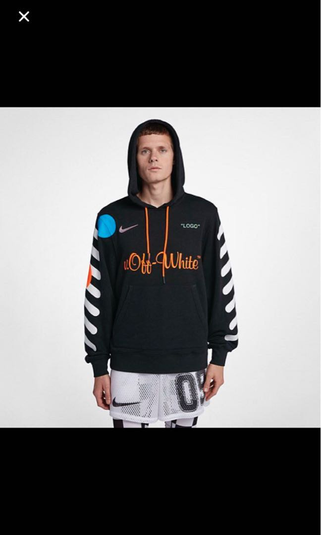 e3f13f59149e Off White x Nike Football hoodie