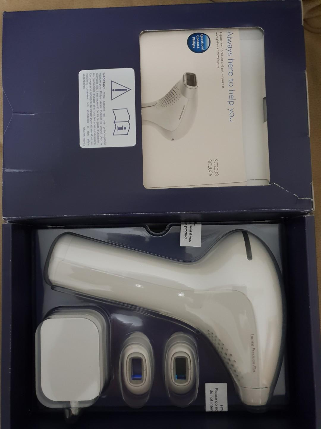 PHILIPS LUMEA PRECISION PLUS IPL Hair Removal System, Health
