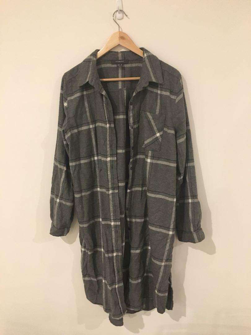 7397e95e462963 Primark shirt dress, Women's Fashion, Clothes on Carousell