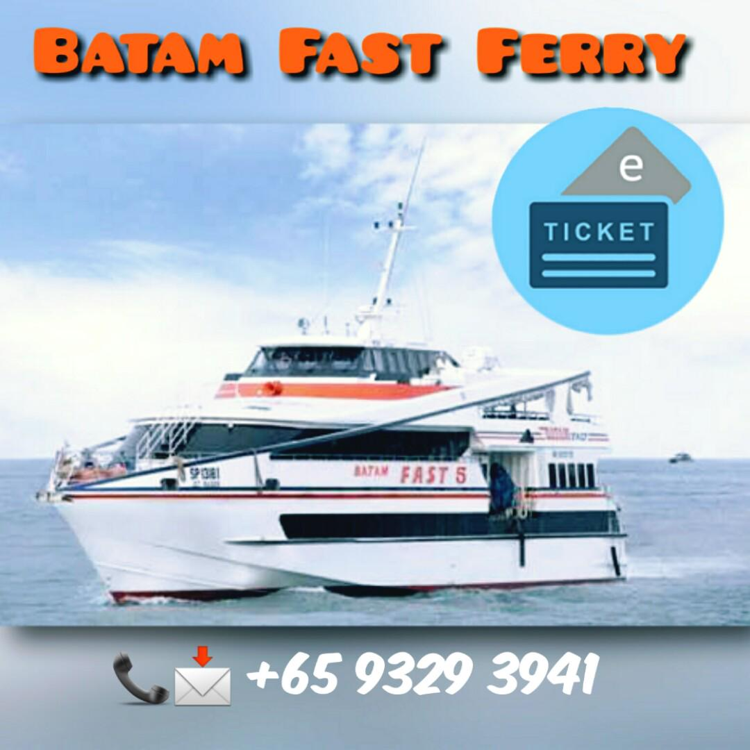 Promo Batam Ferry Ticket Indonesia Passport Entertainment