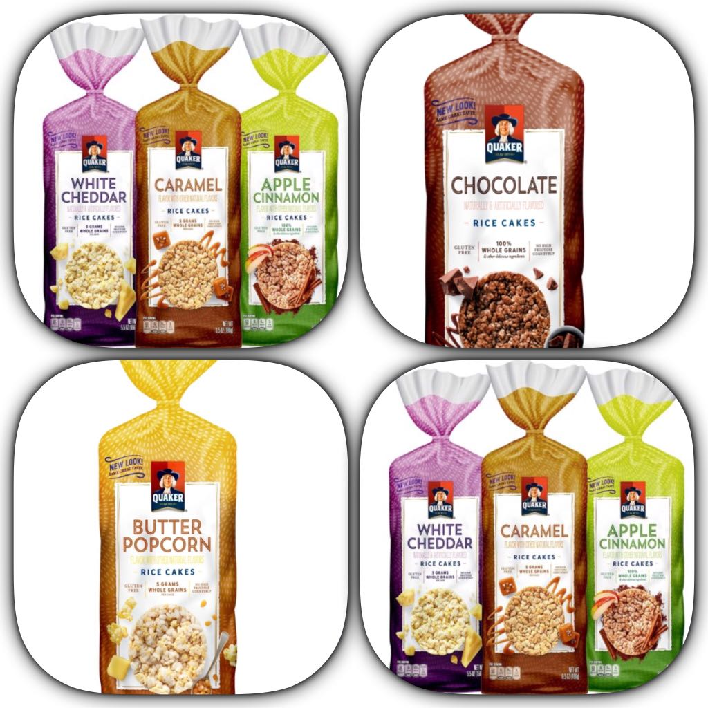Quaker Rice Cakes Order By 19 June 2018 Food Drinks Packaged Snacks On Carousell
