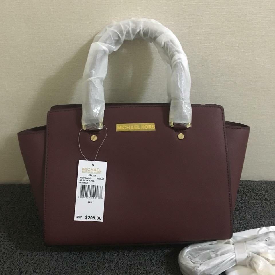 Sale Michael Kors Selma Bag Luxury Bags Wallets Handbags On Medium Lilac Authentic Photo