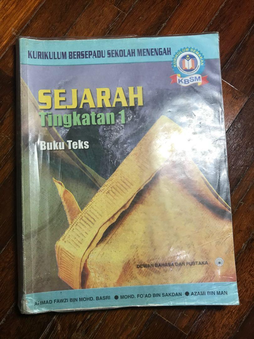 Sejarah Tingkatan 1, Textbooks on Carousell