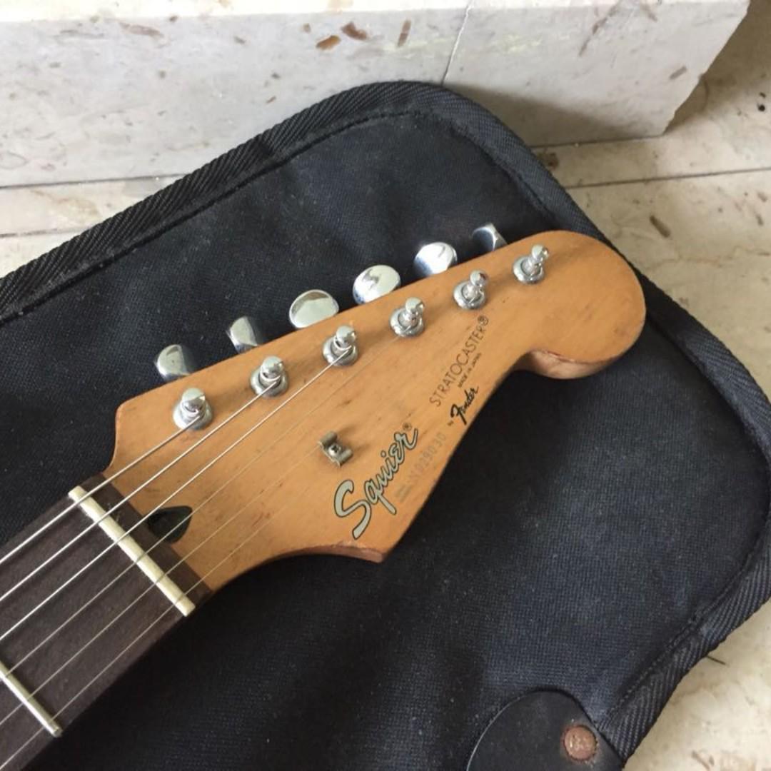 Strat squier made in japan Fender MIJ