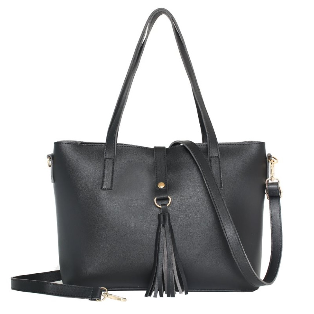 Tas Import Branded 22164SN Black 8873bd188d