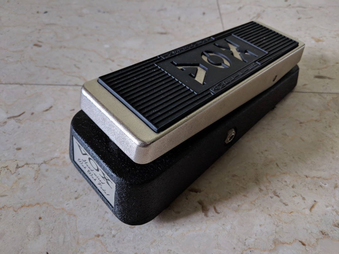 Vox V846hw Handwired Wah Effects Pedal Products T Jen V846 Layout Hw Hand Wired Point To Wiring Gadget Electric Guitar Music Media Accessories On Carousell