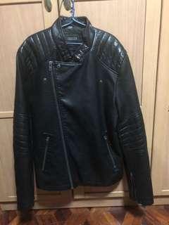 F21 Leather Jacket Men's