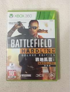 Xbox 360 Game Battlefield Hardline Deluxe Edition (2 Disc Included)