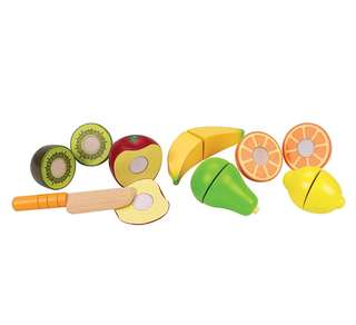 BN Hape Fresh Fruit Wooden Kitchen Play Food Set
