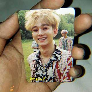 OFFICIAL PHOTOCARD CHEN KOKOBOP PRIVATE VERSION