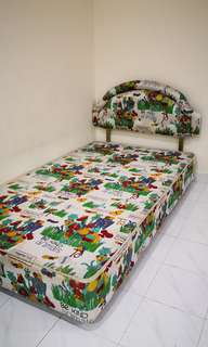 Kingkoil Kidz Single size bed(3.5ft x 6ft) Frame.
