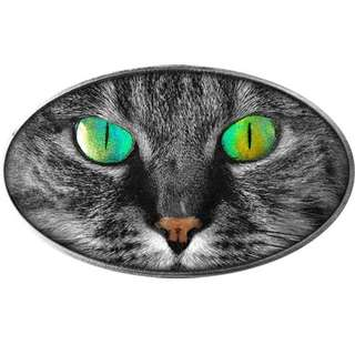 cat silver coin