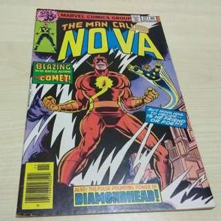 Nova Vol. 1 #22 - 1st appearance Harris Moore as Comet