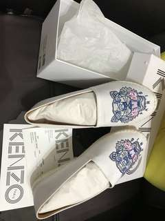 Kenzo shoes 草鞋 魚夫鞋 espadilles 全新