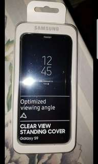 SAMSUNG S9 CLEAR VIEW STANDING COVER