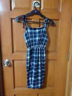 Blue Plaid Dress (DS1)