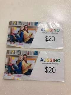 Aussino membership voucher