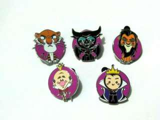 (包郵)disney pin devil