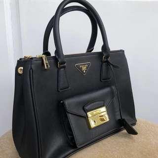 NEW 1:1 Prada Black handbag