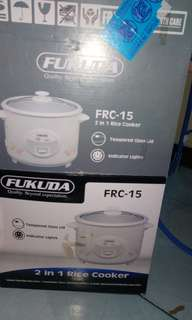 Fukuda 1.5L 8 Cups Rice Cooker FRC-15 (Brand New)