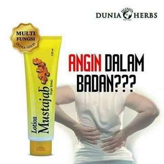 Losyen Mustajab Ginger Extract