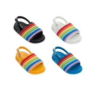 GSS - Mini Melissa Beach Slide Sandal Rainbow