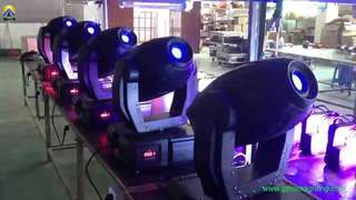 Moving Heads and Par Cans installation