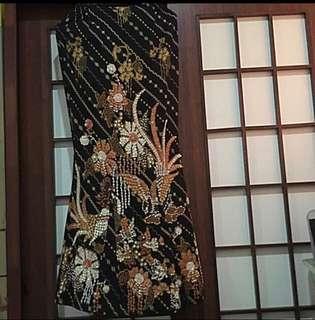 Skirt mermaid batik bermanik