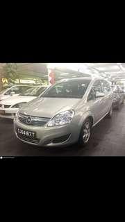 Opel Zafira 1.8 Auto MTA