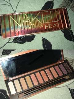 NAKED HEAT PALETTE BY URBAN DECAY 100% ORI