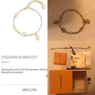 🈹️100%Real 98%new LV 新款bracelet