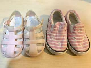 RL and Zara shoes for toddlers