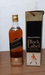 Johnnie Walker whisky black label 760ml