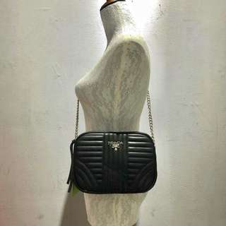Prada Sling Bag Black Color