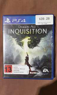 Jual Kaset PS4 Dragon Age