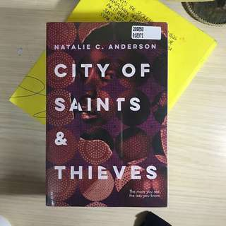 [NEW SEGEL] City of Saints & Thieves Natalie Anderson