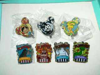 (包郵)Disney pin lollipop popcorn