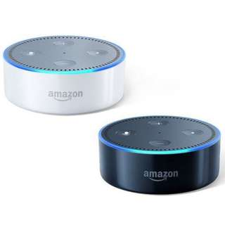 $57 BNIB White or Black Amazon Echo Dot (2nd Gen) - Ready Stock