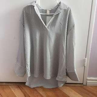 H&M oversized blouse/dress