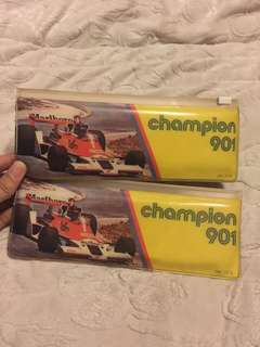 Marlboro champion 901 pensil case