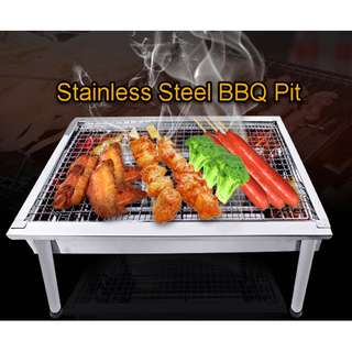 BBQ Pit Stainless Steel Portable