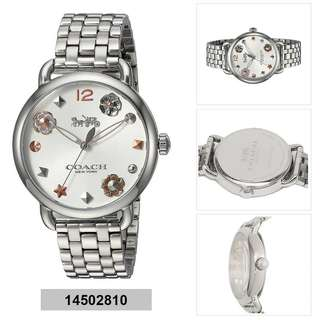 Coach Analog watch delancey 14502810/ 14502811 outlet
