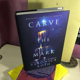 carve the mark veronica roth hardcover